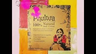 Introducing Gulmeher's Phulwa Natural Holi Colours