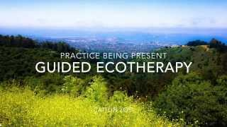 Practice being Present with Guided Ecotherapy