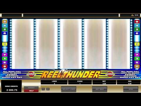 Reel Thunder ™ free slots machine game preview by Slotozilla.com