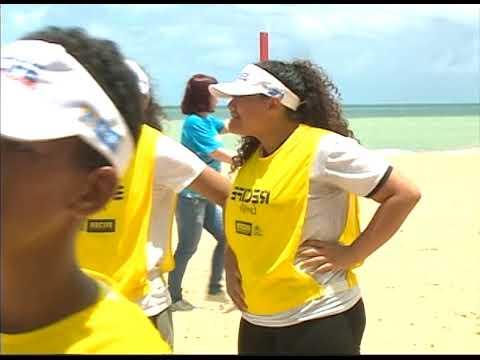 [JORNAL DA TRIBUNA] Programa de formação de atleta leva estudantes à Praia de Boa Viagem