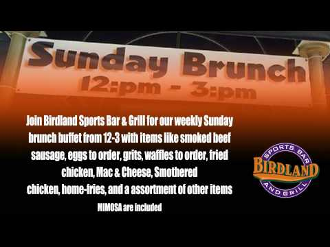 Birdland Sports Bar and Grill Commercial