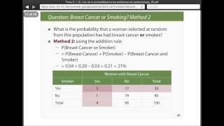 Umh2072 2013-14 Tema 2.1B Conceptos De Probabilidad. Uso De La Probabilidad