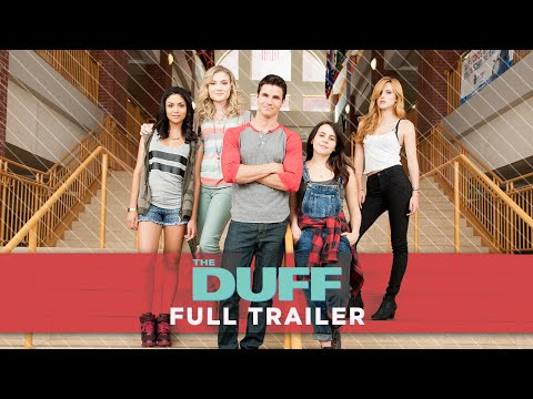 The DUFF - Movie Trailer HD (Mae Whitman, Bella Thorne, Robbie Amell)