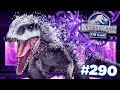 Selling Indominus Rex    Jurassic World  The Game  Ep290 Hd