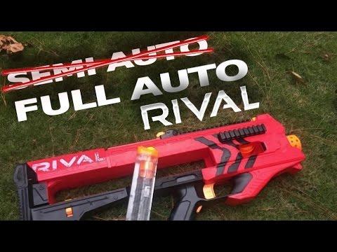 New Automatic NERF Gun Shoots Foam Balls at 70mph!