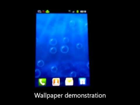 Video of Bubble live wallpaper Pro
