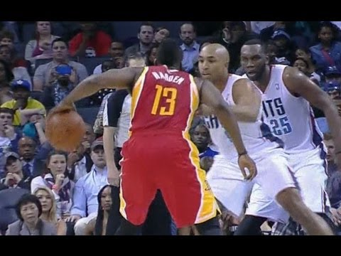 James Harden's clutch stepback jumper on Gerald Henderson