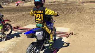 9. What Yamaha do you think I qualified for Loretta Lynn's yz 65 or yz 85
