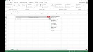 Excel 2013 - Crear listas desplegables