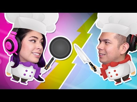 ITS A COOK OFF! - Overcooked - Husband Vs Wife Rematch!