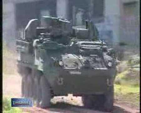「[兵器]レーダーによる対ロケット弾戦車防御システムがカッコイイ。」のイメージ