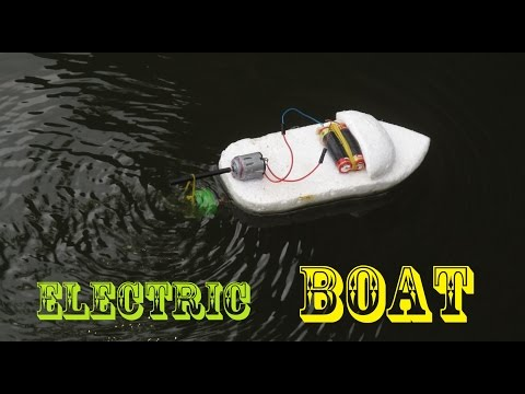 Video How to make an Electric Boat very easy | Making toy download in MP3, 3GP, MP4, WEBM, AVI, FLV January 2017
