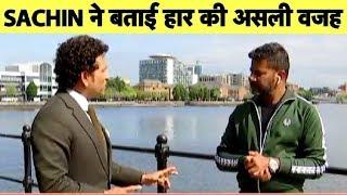 Sachin EXCLUSIVE: Sachin Questions Dhoni Batting at No 7 After India's Semis Loss | Vikrant Gupta