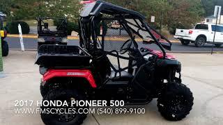 6. 2017 Honda Pioneer 500 - Walk Around - in Stock at FMS