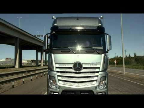 Грузовики Mercedes Benz new ACTROS 2011 trucks