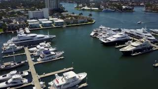 Check out the Hotel, boats and the slips where the fort lauderdale boat show is held every year.