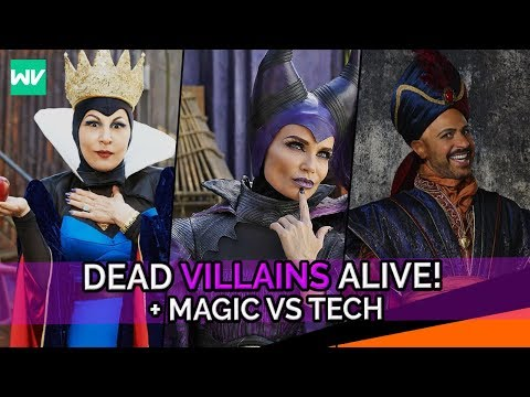 How Dead Villains Are Alive + Why Technology Replaced Magic: Discovering Descendants