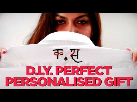 D.I.Y. Gifting | How To Make the Perfect Personalised  Gift | StyleIndi | Indi In The City