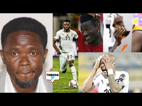 OH! DAN KWAKU YEBOAH'S COMMENT AFTER GHANA LOST AGAINST TUNISIA - AFCON 2019