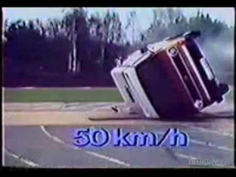 Volkswagen T3 Crash Test Video 3 of 3