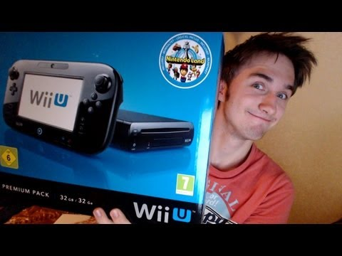 Wii U - Fast Unboxing by UselessMouth