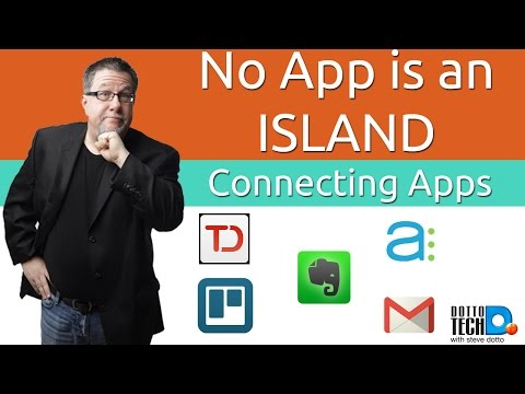 No App is an Island – Connecting All your Productivity Apps