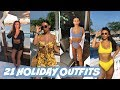 SUMMER HOLIDAY OUTFIT LOOKBOOK! REALLY CUTESY OUTFITS!