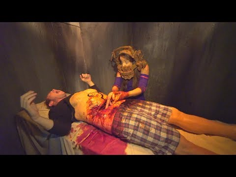 SAW: The Games of Jigsaw at Halloween Horror Nights at Universal Studios Hollywood