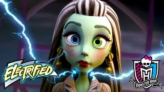 "Nonton Monster High ""Electrified"" Official Movie Trailer 