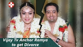 Vijay Tv Anchor Ramya to get Divorce | VJ Ramya | OK Kanmani | Tamil Movie | Latest News