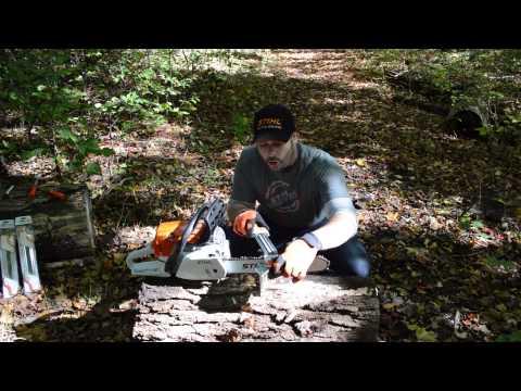 Parlons tech avec chad comment affuter votre cha ne stihl episode 5 - Comment affuter une chaine de tronconneuse ...
