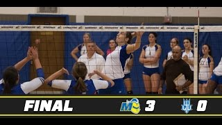Highlights- Volleyball vs. Lawrence Tech
