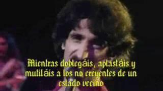Frank Zappa - Dumb All Over (subtítulos en español)