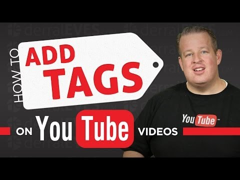 tags - How to Properly Tag your YouTube Videos -- Derral Eves explains the four different kinds of tags, how to properly create tags, and how YouTube uses tags to r...
