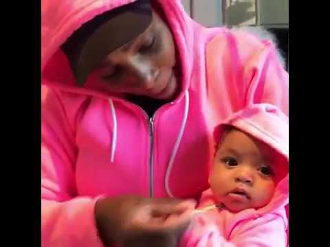 Serena Williams' Baby Girl Alexis Olympia Stars in 10 of Her Top 2017 Videos