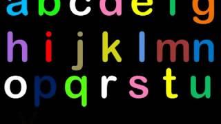 ABC Song песенка для малышей английский алфавит