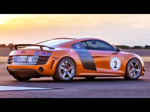 l'audi r8 più veloce al mondo! 2100 cv turbo!
