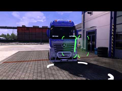 Mercedes Benz Actros MP4 + Interior v2.2