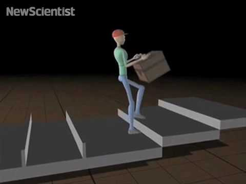Virtual Walkers Lead The Way For Robots