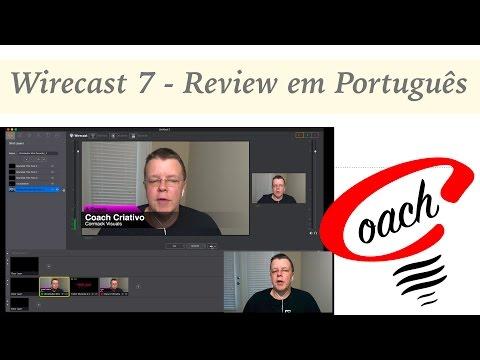 Wirecast 7 - Review em Português do Software de Transmissão ao Vivo da Telestream