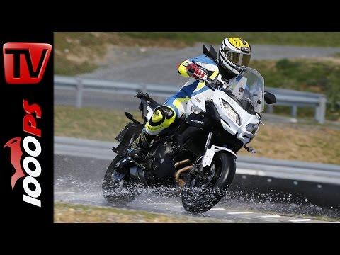 Metzeler Roadtec 01 Test 2016 | Nassgrip, Handling, Laufleistung