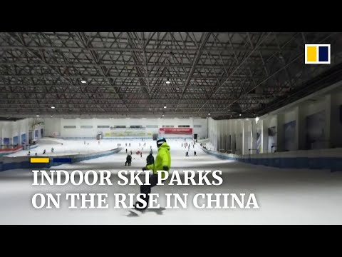 Indoor ski parks on the rise as China pushes winter sports ahead of 2022 Olympic Games