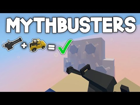 Unturned Mythbusters #2 - CAN YOU SHOOT A HELLS FURY UNDER WATER?