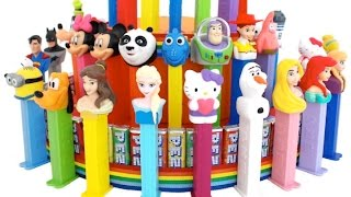 Giant Pez Candy Dispenser Cake * Finding Dory Disney Toy Story * RainbowLearning