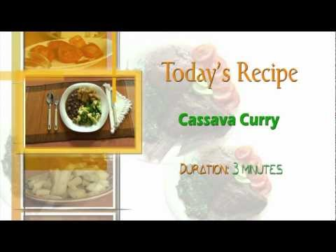 Cassava Curry Recipe