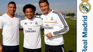 Video Ronaldo Nazario da Lima acudió a la Ciudad Real Madrid MP3, 3GP, MP4, WEBM, AVI, FLV Oktober 2018