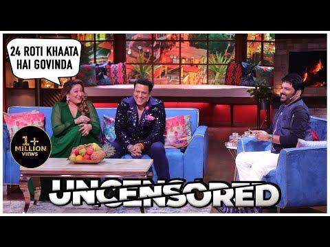 Humorous Evening With Govinda And Sunita Ahuja Uncensored | The Kapil Sharma Show | Govinda, Sunita