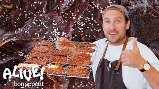 Brad Makes Beef Jerky | It's Alive | Bon Appétit