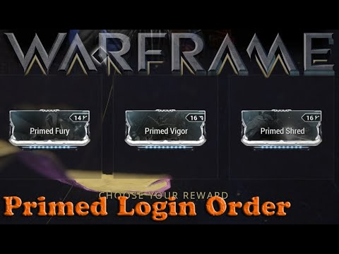 Warframe - Daily Tribute Primed Mod Pickup Order
