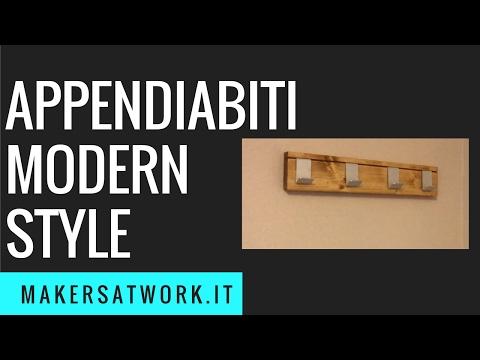 Appendiabiti modern style - Fai da Te
